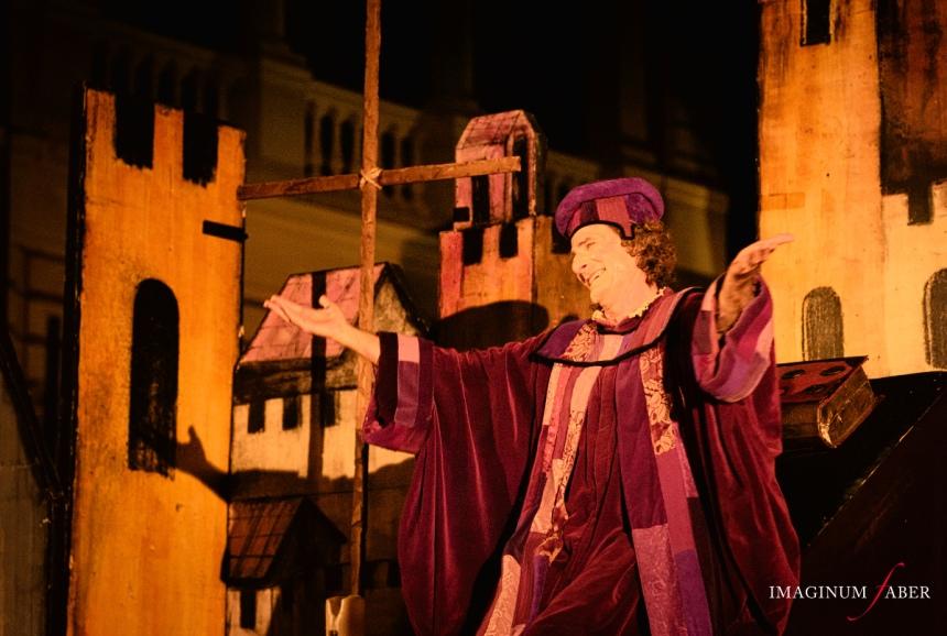 Ser Ciappelletto, Teatro della Tosse, I Cattivi a Teatro