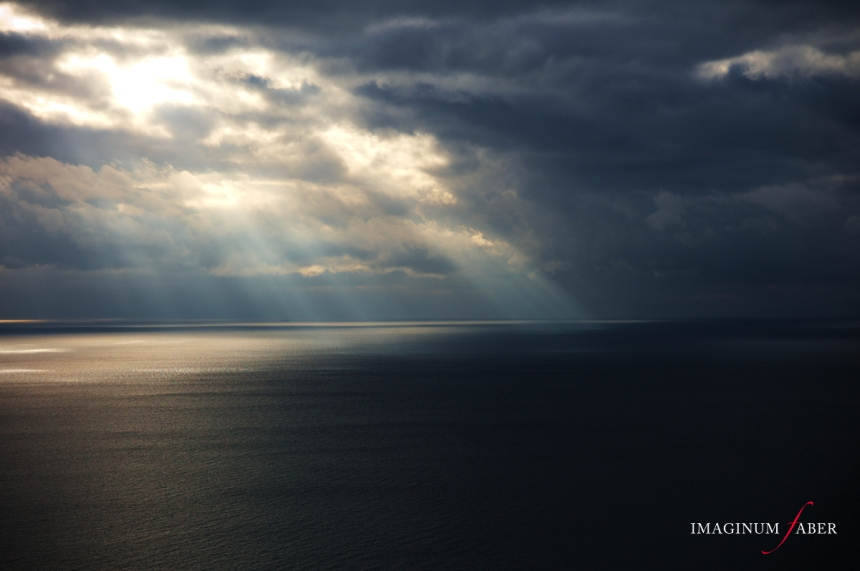 Divine Light, Genova Nervi, Liguria, Italy