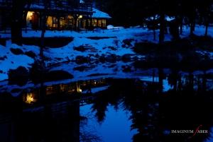 Christmas Eve, Lago delle Lame, Liguria, Italy