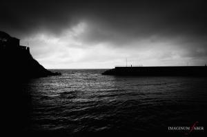 Before the Storm, Genova Nervi, Liguria, Italy