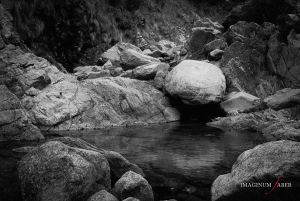 Rocks and Stream, Val Baiarda, Liguria, Italy
