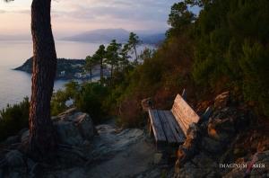 A view on Sestri Levante, Liguria, Italy